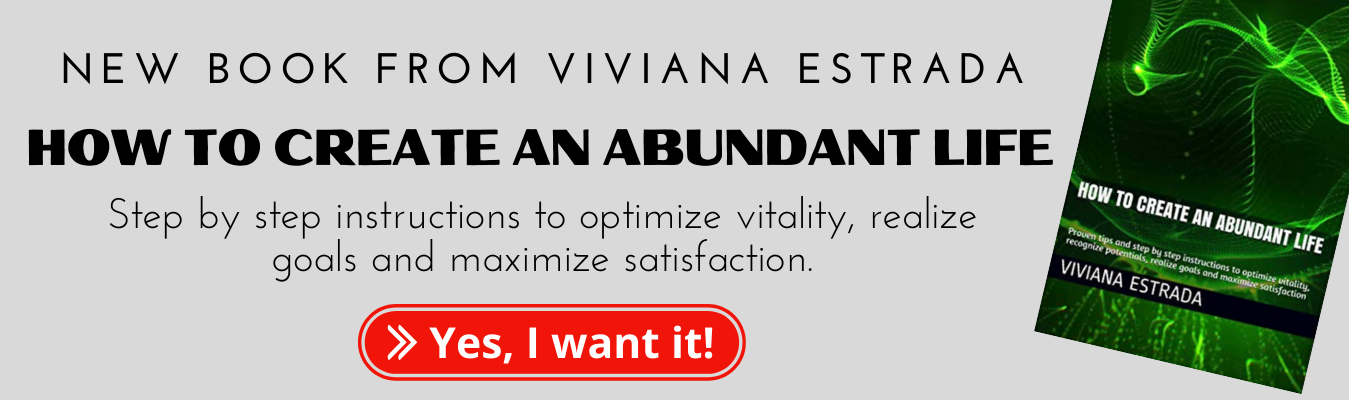 New book form Viviana Estrada - How To Create An Abundant Life